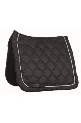 dressage saddle cloth -gently black&silver-