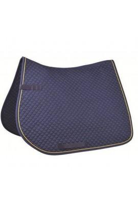 All-purpose saddle cloth -piping-
