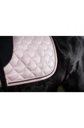 Cavallino Marino saddle cloth -copper kiss- rose