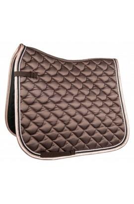 Cavallino Marino saddle cloth -copper kiss- mocha