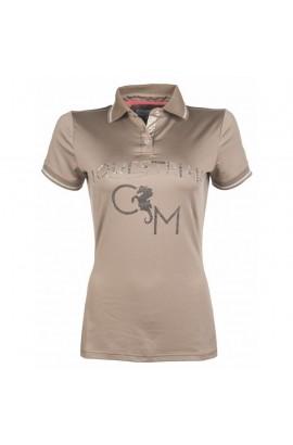 polo shirt -venezia taupe-