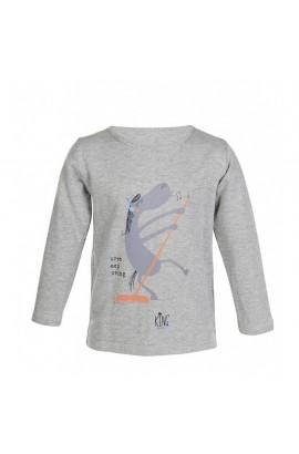 longsleeve shirt -king clyde grey-