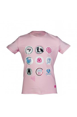 kids t-shirt -piccola heart-