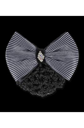 hair net -black&white-