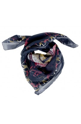 shawl -santa rosa deep blue-