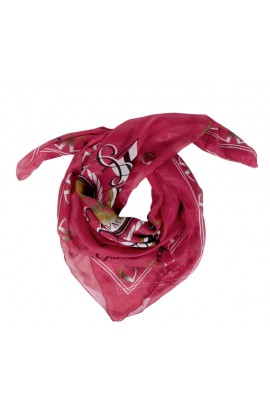 shawl -santa rosa raspberry-