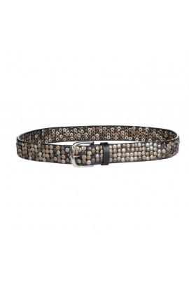 -studs- leather belt