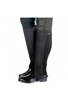 kids synthetic half chaps -microfibre kids-