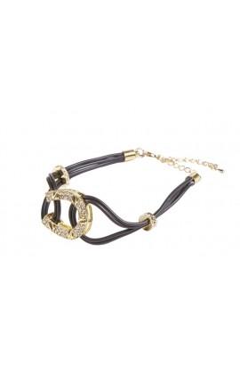 -horseshoes gold- bracelet