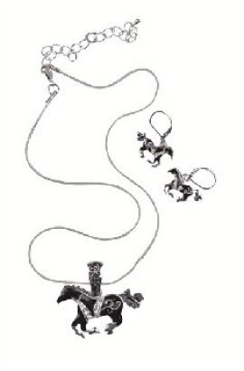 jewellery set -horse-