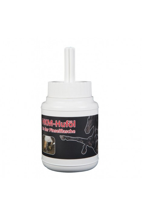 -hkm- hoof oil with a brush