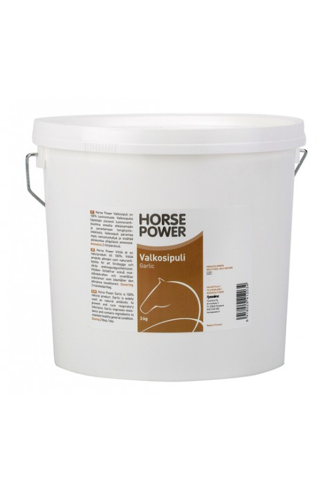 -horse power- garlic