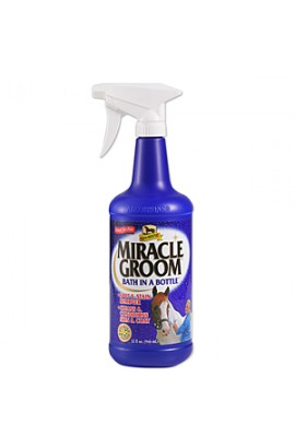 -miracle groom- dry shampoo for horses