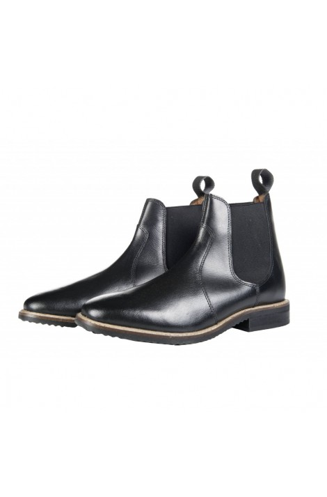 -2 colors- leather jodhpur boots