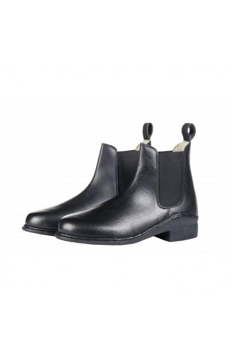 -basic winter- leather jodhpur boots