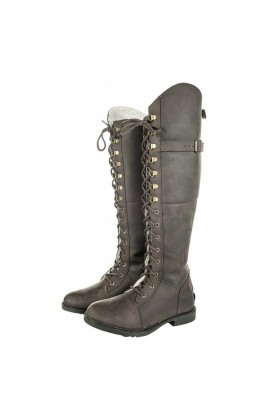 leather winter boots -dublin winter-