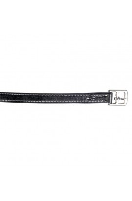 stirrup leathers -flexi black-