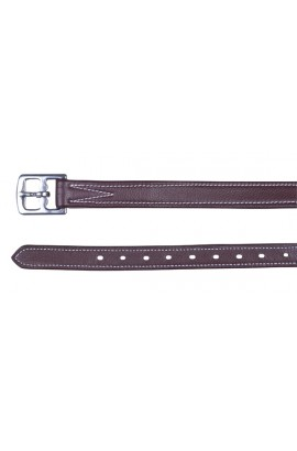 stirrup leathers -flexi brown-