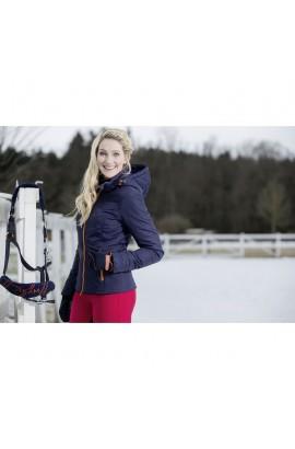 deep blue -hickstead- quilted jacket