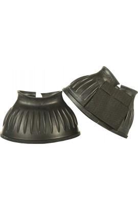 black -atlanta- rubber over reach boots