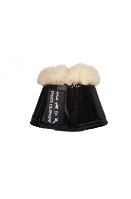 black -comfort lack- over reach boots