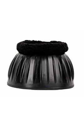 black -economic plus- rubber over reach boots