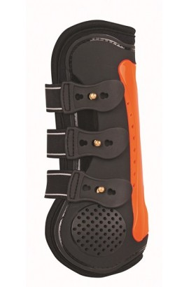 black&orange -air- protection Boots