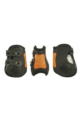 black&orange -air- hind protection boots