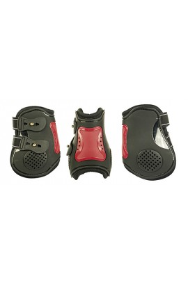 black&red -air- hind protection boots