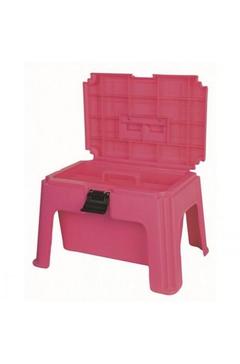 pink -step up- grooming box
