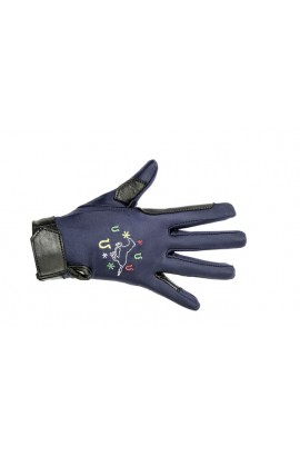 kids gloves -galloping horse-