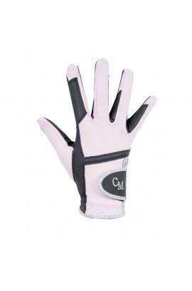 Riding Gloves -soft powder rose-
