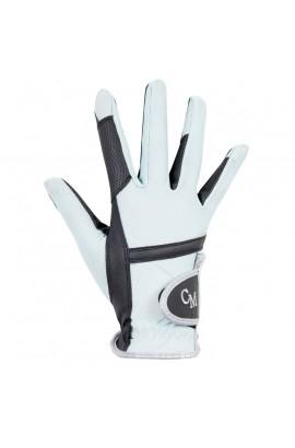 Riding Gloves -soft powder aqua-