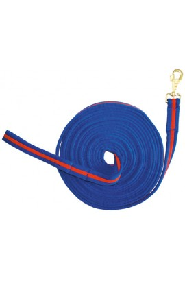 lunge line -soft corn blue-