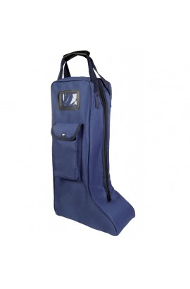 boots bag deep blue