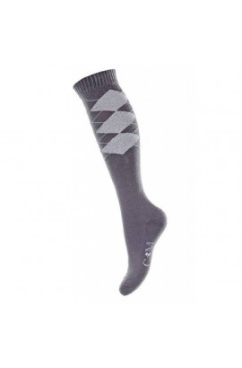 -grey-piemont- riding socks
