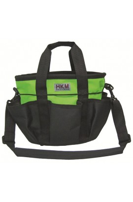 grooming bag -colour apple green-