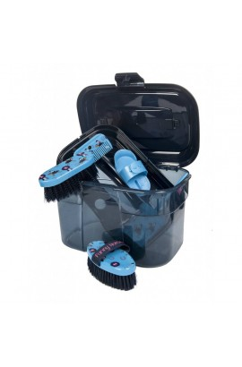 -funny horses- grooming set
