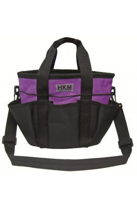 grooming bag -colour lilac-