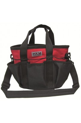grooming bag -colour red-