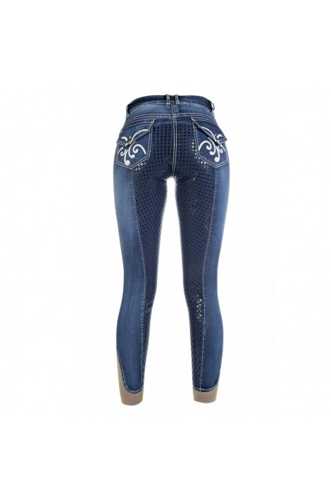 Jeans breeches with silicone -Pasadena Summer Denim-