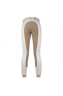 breeches -rimini glitter beige-camel- 3/4 alos seat