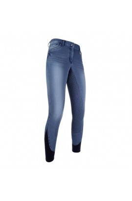 breeches -piemont jeggings blue-