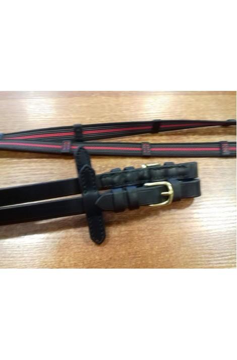 -t-001- rubberized reins