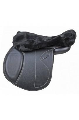 -black- lambswool seat saver