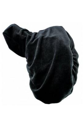 saddle cover -polar fleece black-