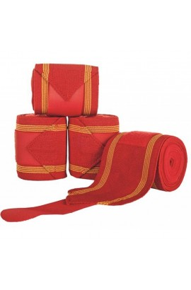 -red&gold- combination bandage