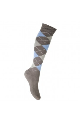 riding socks -lemmy brown square-