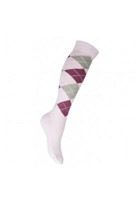 riding socks -lemmy pink square-