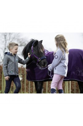 pony fleece cooler  -bellamonte lilac-